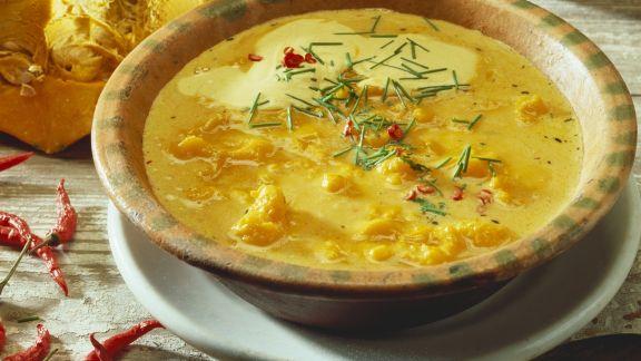 Rezept: Kürbissuppe auf jamaikanische Art