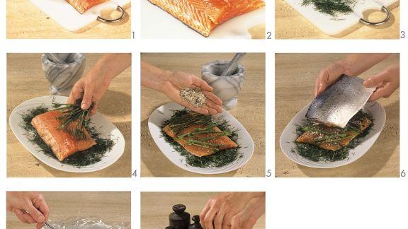 Rezept: Lachs beizen