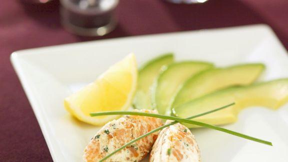 Rezept: Lachs-Frischkäse und Avocado