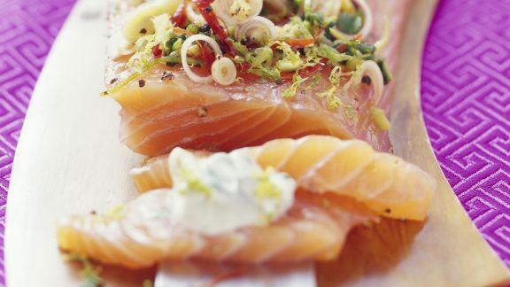 Rezept: Lachs mit asiatischer Marinade