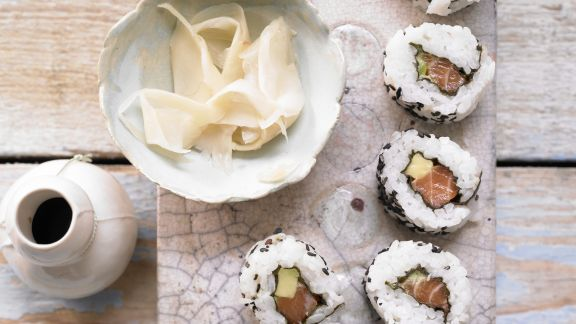 Rezept: Lachs-Sushi