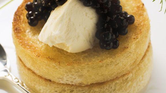 Rezept: Lachsmousse-Häppchen