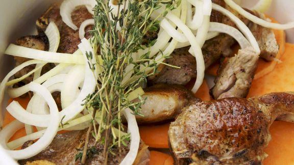 Rezept: Lamm-Kartoffel-Auflauf auf englische Art