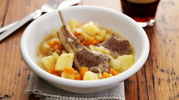 Rezept: Lamm-Kartoffel-Eintopf nach irischer Art (Irish Stew)