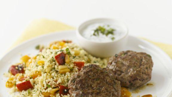 Rezept: Lamm-Köfte mit Couscous