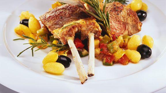 Rezept: Lamm mit Ratatouille