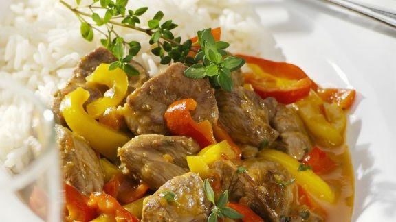 Rezept: Lamm-Paprika-Ragout