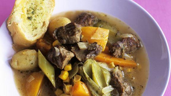 Rezept: Lammeintopf mit Gemüse