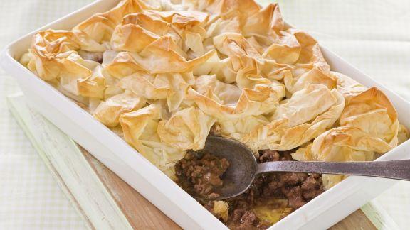 Rezept: Lammfleischkuchen mit Filoteig