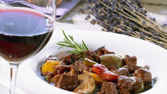 Rezept: Lammragout auf provenzalische Art
