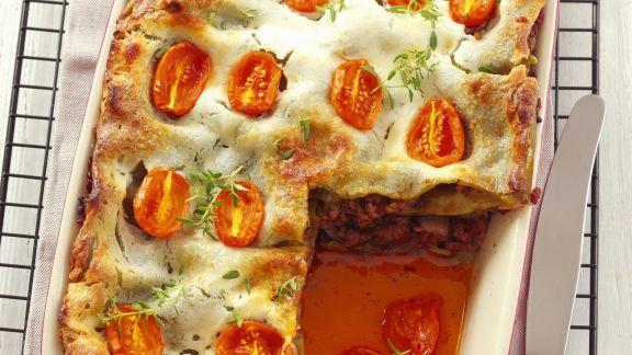 Rezept: Lasagne mit Cocktailtomaten