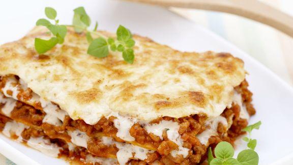 Rezept: Lasagne mit Hackfleisch