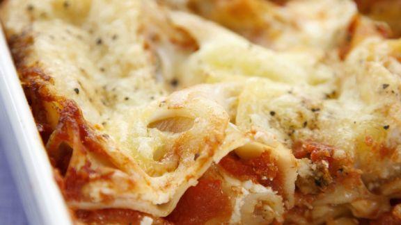 Rezept: Lasagne mit Tomaten