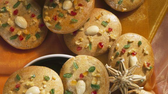 Rezept: Lebkuchen mit kandierten Früchten