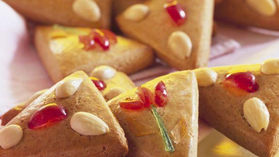 Rezept: Lebkuchen mit Mandeln