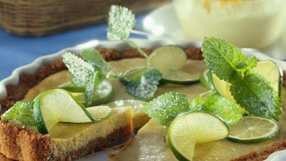Rezept: Lime-Pie