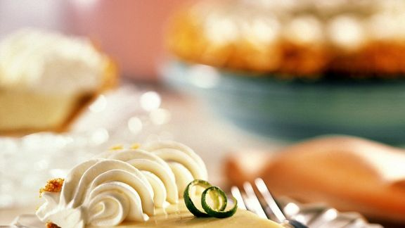Rezept: Lime Pie