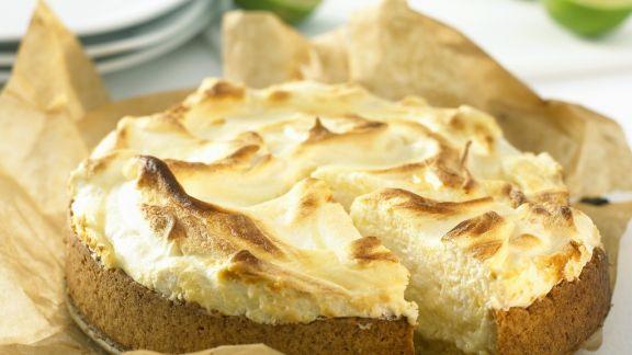 Rezept: Limetten-Baiser-Kuchen
