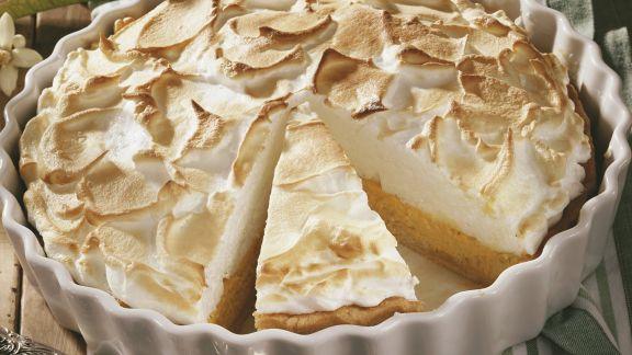 Rezept: Limetten-Baiser-Kuchen (Key Lime Pie)