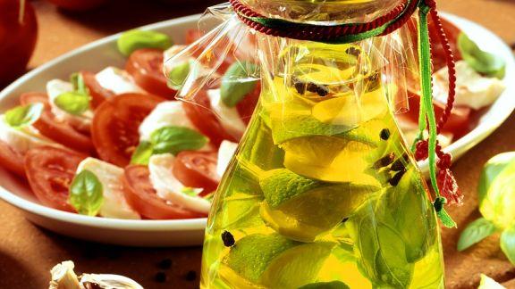 Rezept: Limetten-Knoblauchöl