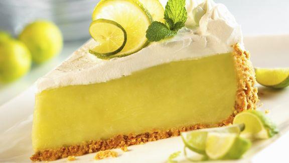 Rezept: Limettenkuchen nach amerikanischer Art