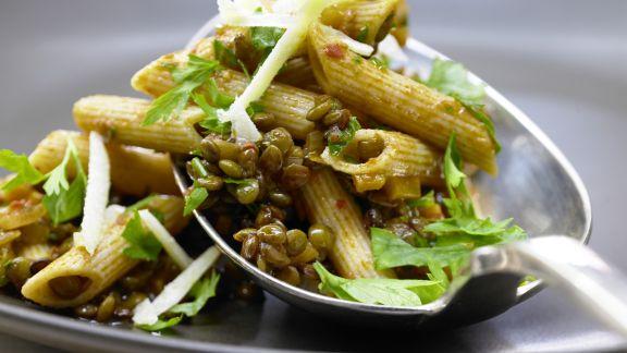 Rezept: Linsen-Gemüse-Bolognese