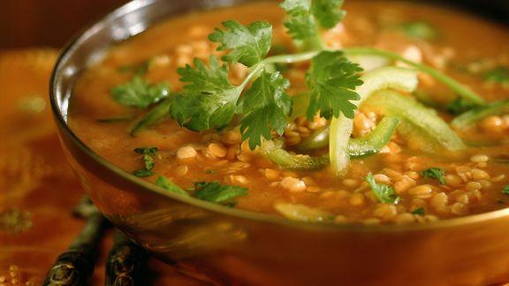 Rezept: Linsen-Paprika-Suppe