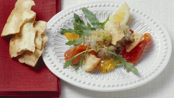 Rezept: Loup de mer-Tatar