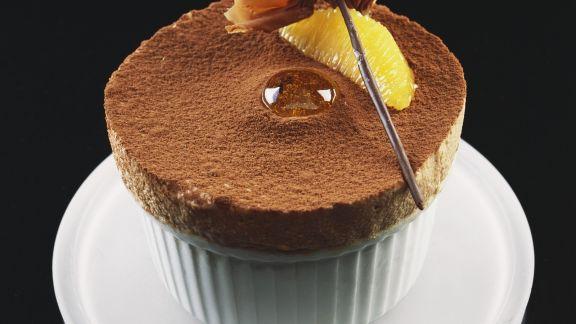 Rezept: Luftiges Schokoladentörtchen