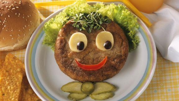 Rezept: Lustiger Kinder-Hamburger