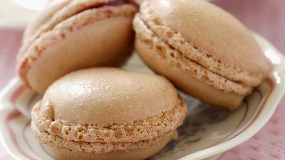 Rezept: Macarons mit Rosenmarmelade