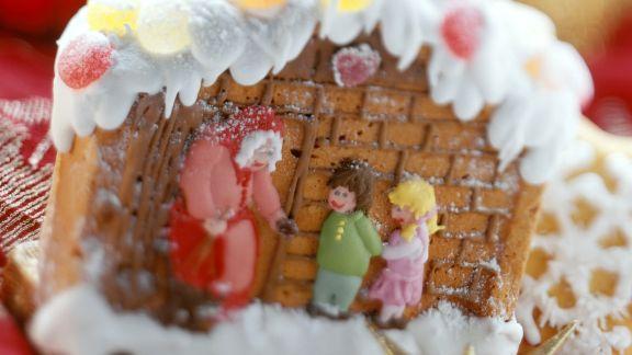 Rezept: Märchenhaftes Lebkuchenhaus