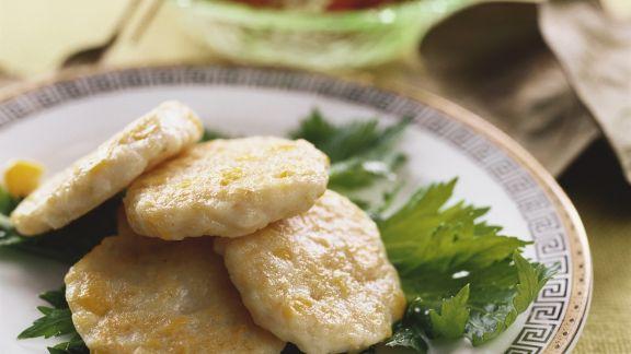 Rezept: Mais-Fisch-Frikadellen