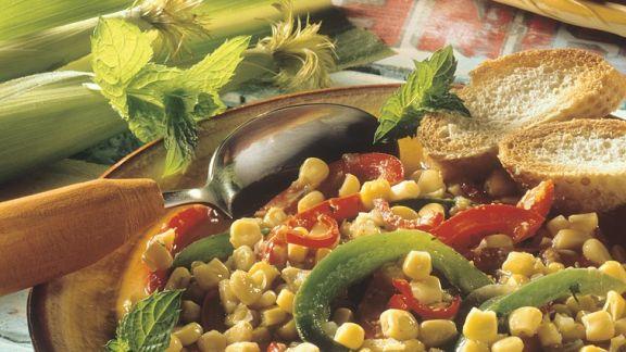 Rezept: Mais-Paprikagemüse