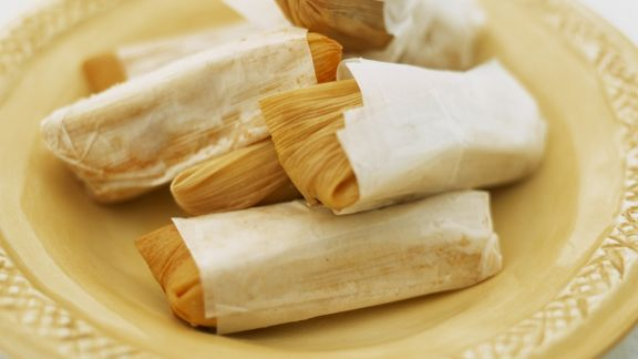 Rezept: Maisblätter mit Füllung (Tamales)
