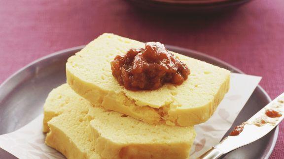 Rezept: Maisbrot mit Tomatenchutney