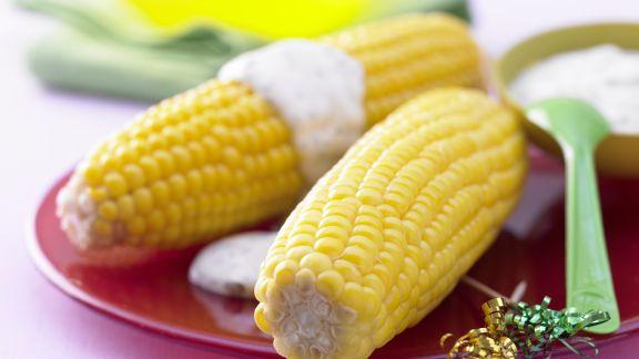 Rezept: Maiskolben »Goldbarren«