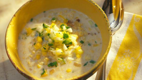 Rezept: Maissuppe