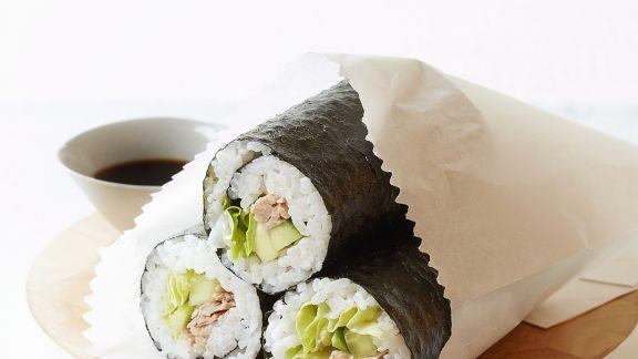 Rezept: Maki und Avocado und Thunfisch