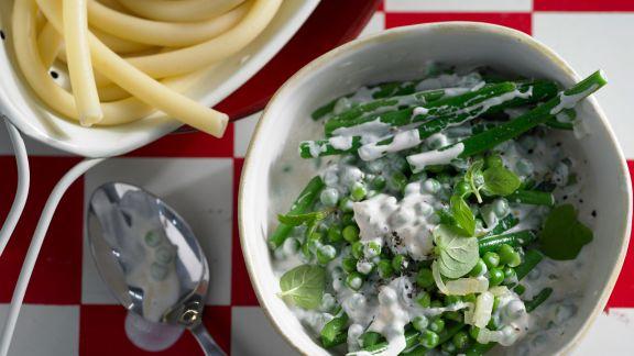 Rezept: Makkaroni mit Gemüse-Ragout