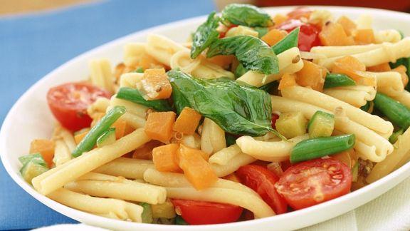Rezept: Makkaroni mit Gemüse