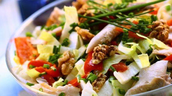 Rezept: Makrelensalat mit Chicoree