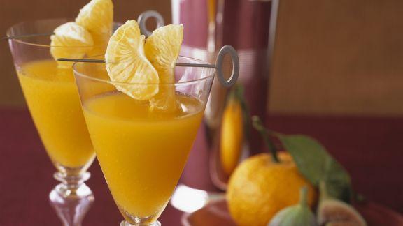 Rezept: Mandarinen-Drink