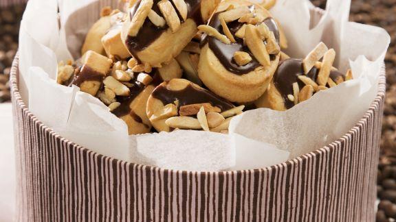 Rezept: Mandel-Schoko-Kekse