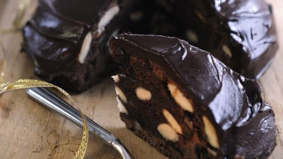 Rezept: Mandel-Schoko-Kuchen auf italienische Art