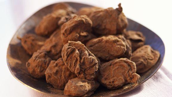 Rezept: Mandeln in Kakaohülle