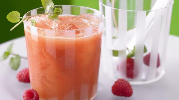 Rezept: Mango-Himbeer-Cocktail