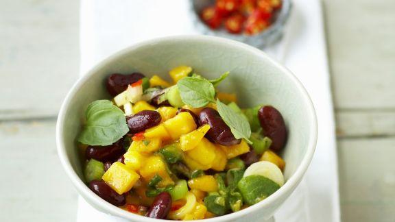 Rezept: Mango-Salat mit Minze