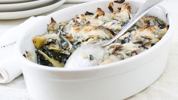 Rezept: Mangold-Ricotta-Lasagne