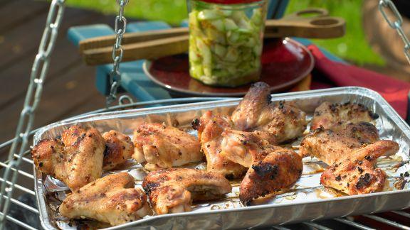 Rezept: Marinierte Chicken Wings